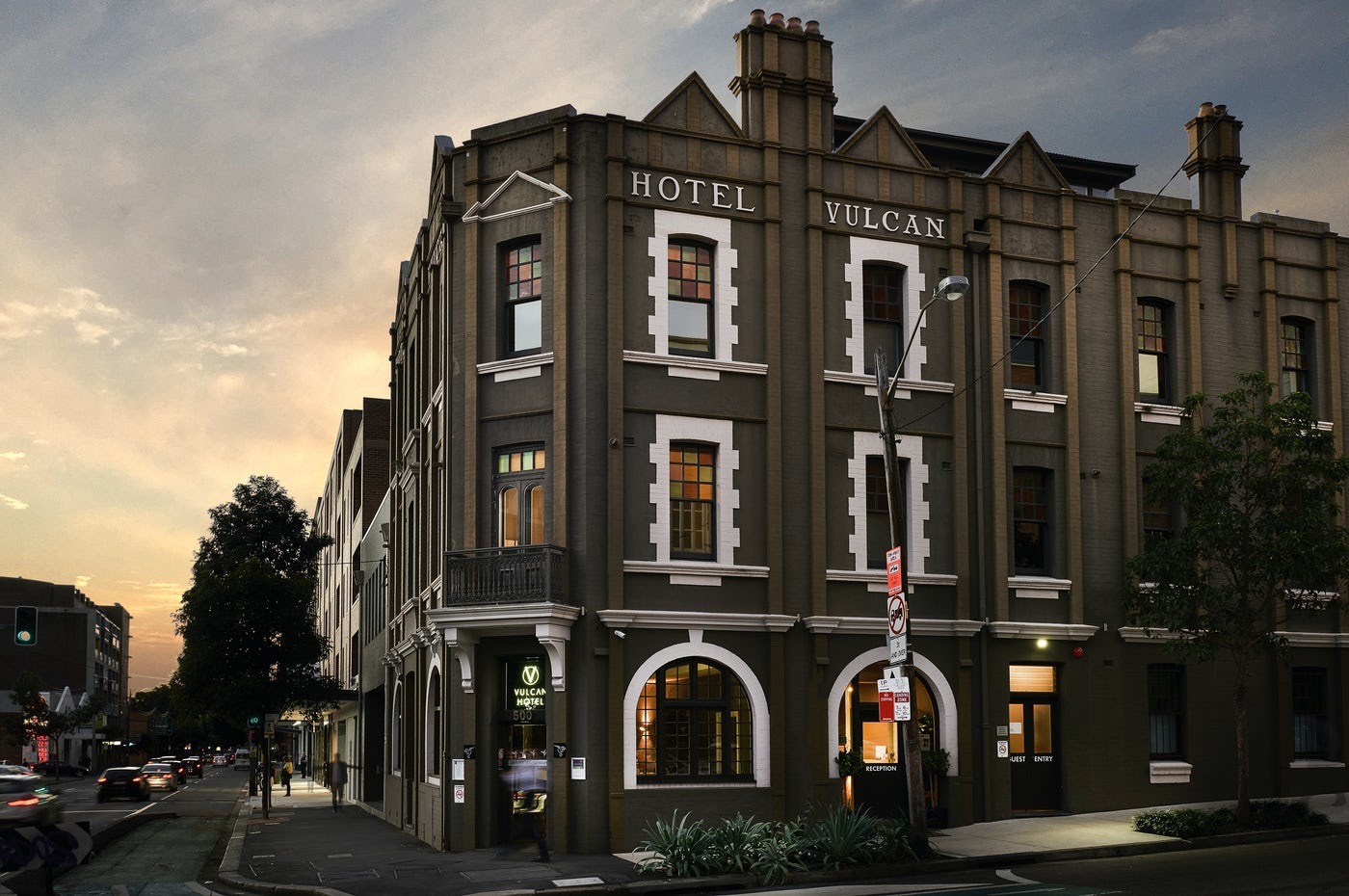 Boutique hotel Sydney at Vulcan Hotel