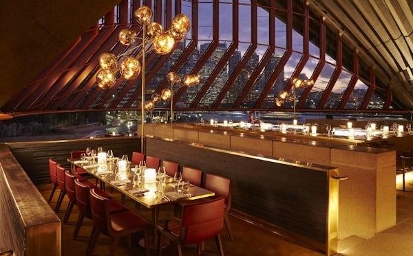 Romantic Dinner at Bennelong Restaurant, Sydney