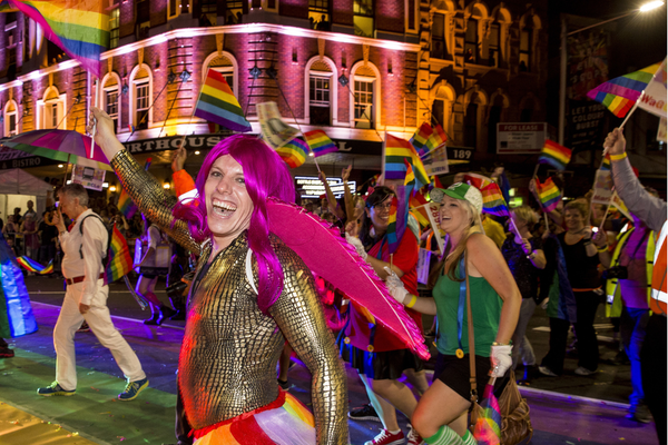 Stay at Vulcan Hotel (Travel Proud) and head to the Sydney Gay & Lesbian Mardi Gras