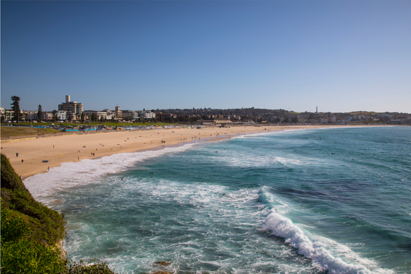 Bondi Beach. the perfect relaxation in Sydney for all to enjoy
