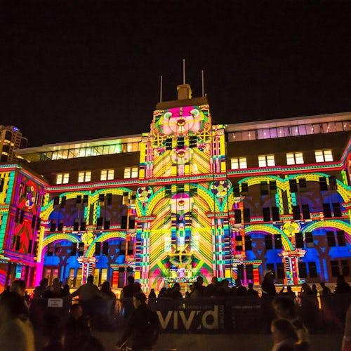 Sydney Vivid Lightshow