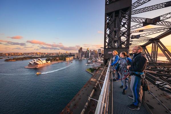Twilight BridgeClimb Sydney - Must Credit Destination NSW